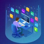 لوگوی گروه از ایده های برنامه نویسی وب